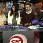 CP24 breakfast team learns about sensory loss from Home Instead Senior Care